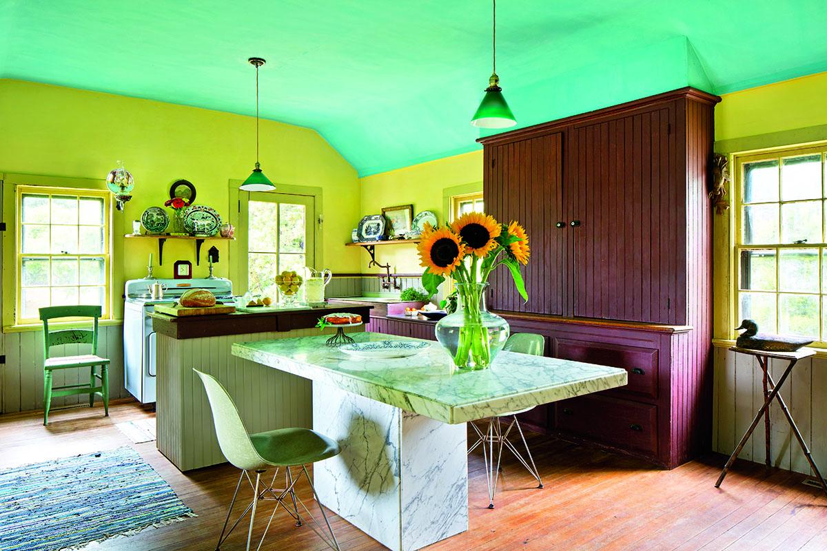 Italianate kitchen