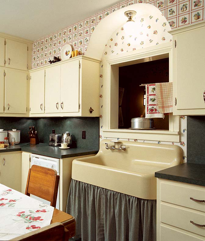 Add Charm With Kitchen Wallpaper
