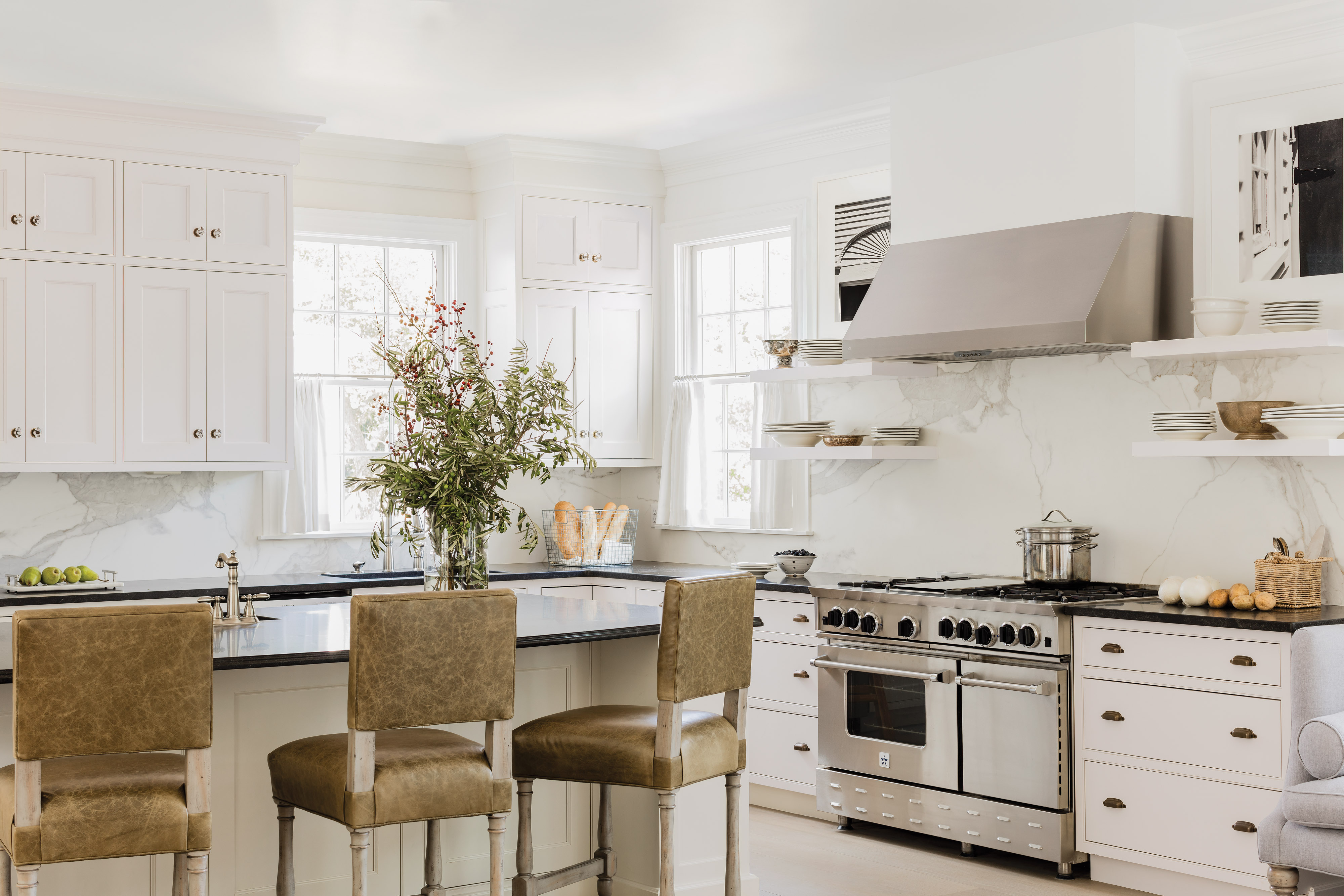 Refreshing a Historic Greek Revival House