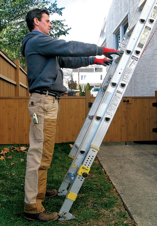 12 Ladder Safety Tips Old House Restoration Products