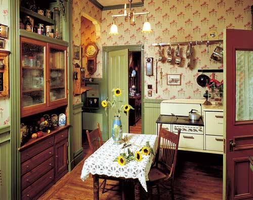 Reinventing the victorian kitchen restoration design - Late victorian wallpaper ...