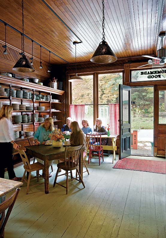 Lauren Parlin runs the Uptown restaurant through the summer and fall seasons.
