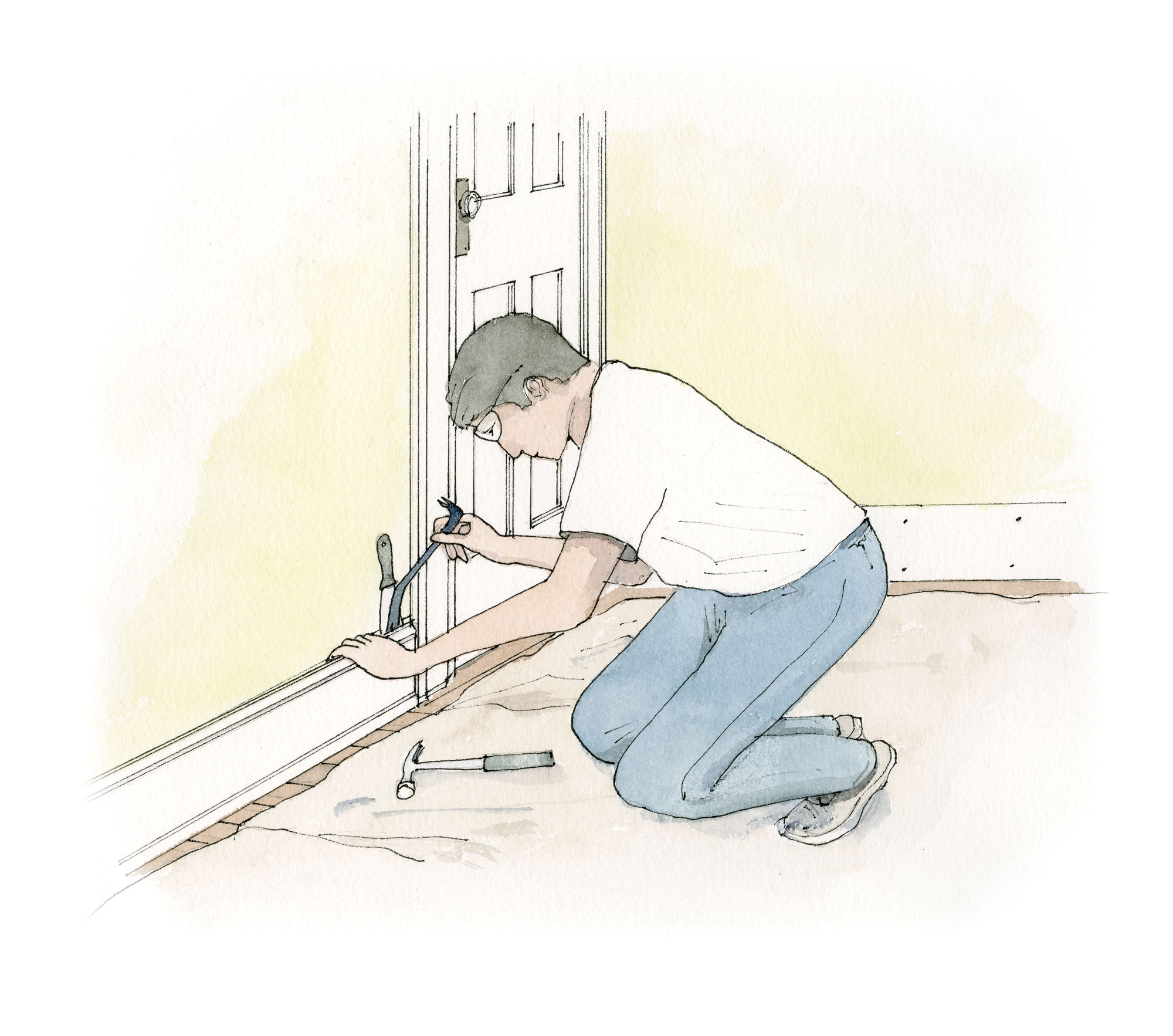 Removing Woodwork to Strip or Salvage