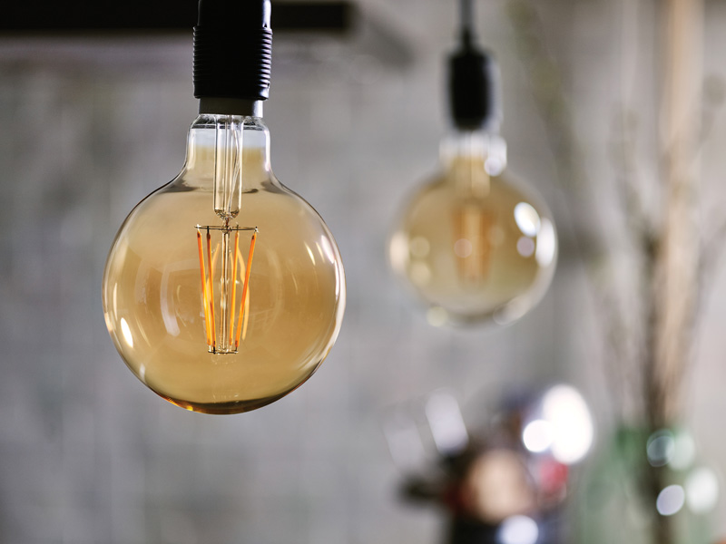 amber glass bulbs