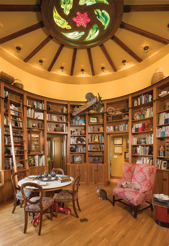 circular library, Spanish Colonial