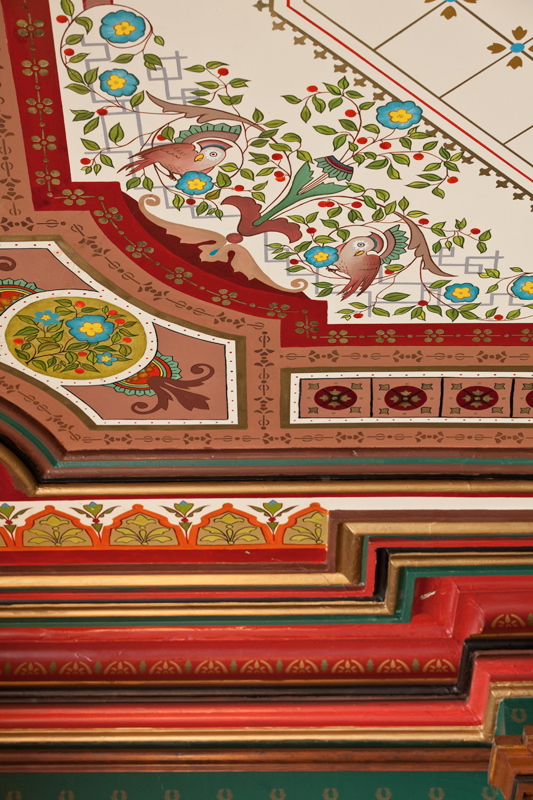 Decorated Ceilings And Walls Old