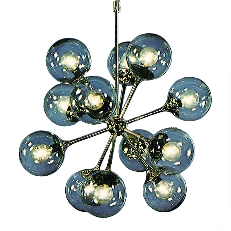 Mid-century contemporary lighting, 1965-1970