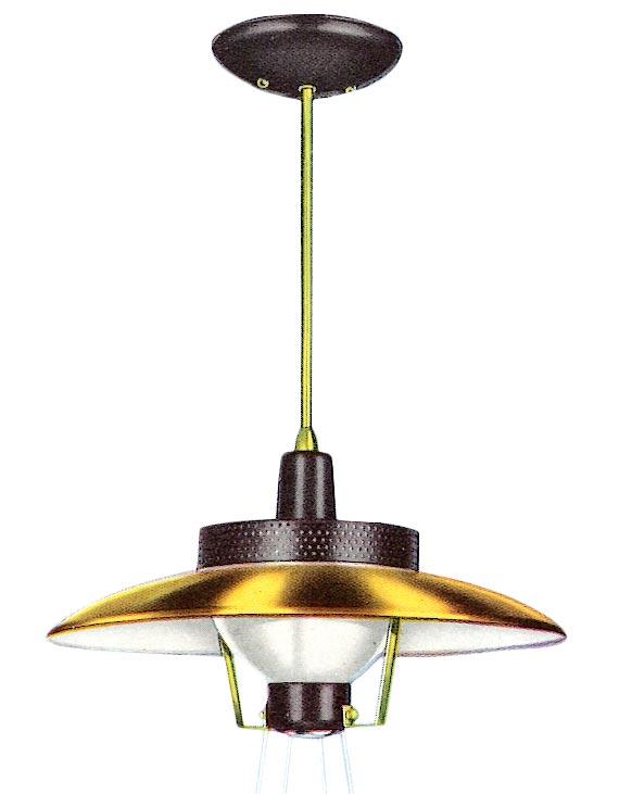 Proto-Modern lighting, 1950-1955