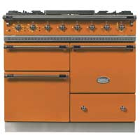 """Like all the company's made-to-order stoves in enamel, cast iron, and brass, Lacanche's 39"""" 'Chagny' comes in multiple configurations. $8,955 and up."""