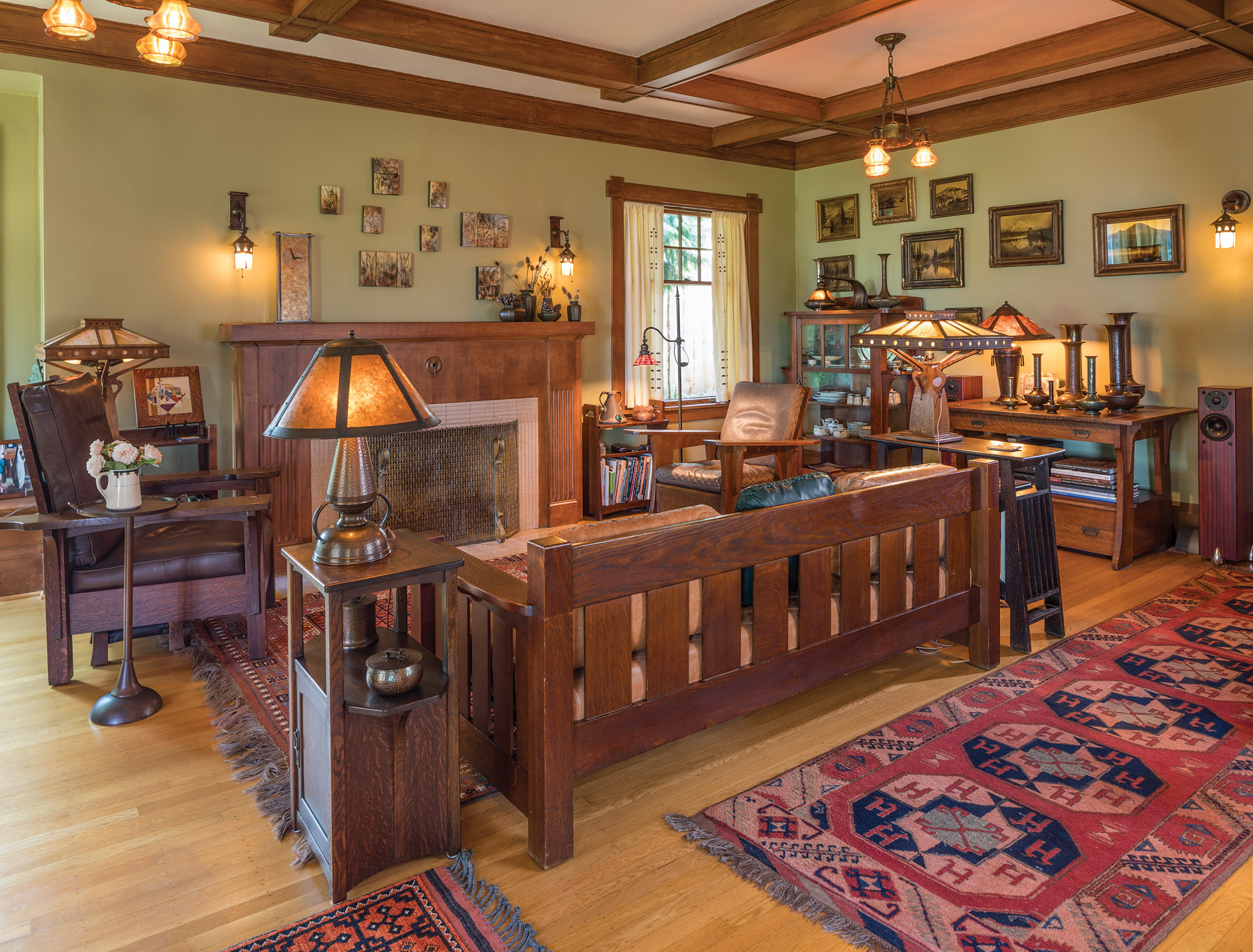 A Restored 1920s Arts Amp Crafts Bungalow Old House