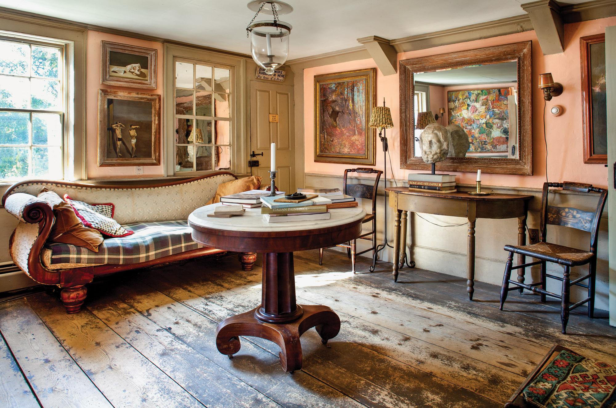 New England home interior