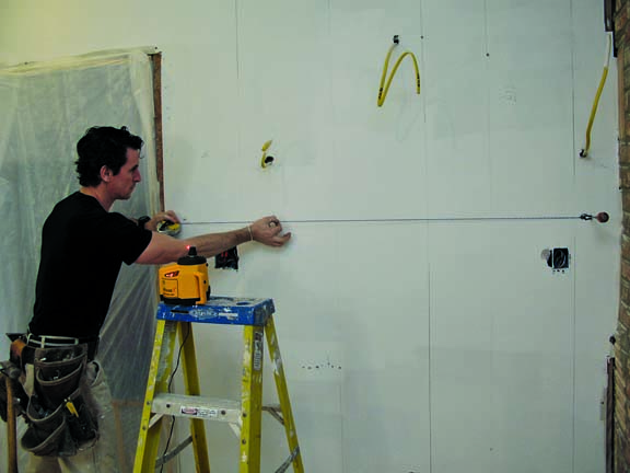 Installing kitchen cabinets old house restoration for Best thing to line kitchen cabinets