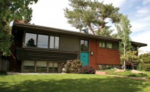 Many of Arapahoe Acres' houses were inspired by Frank Lloyd Wright.
