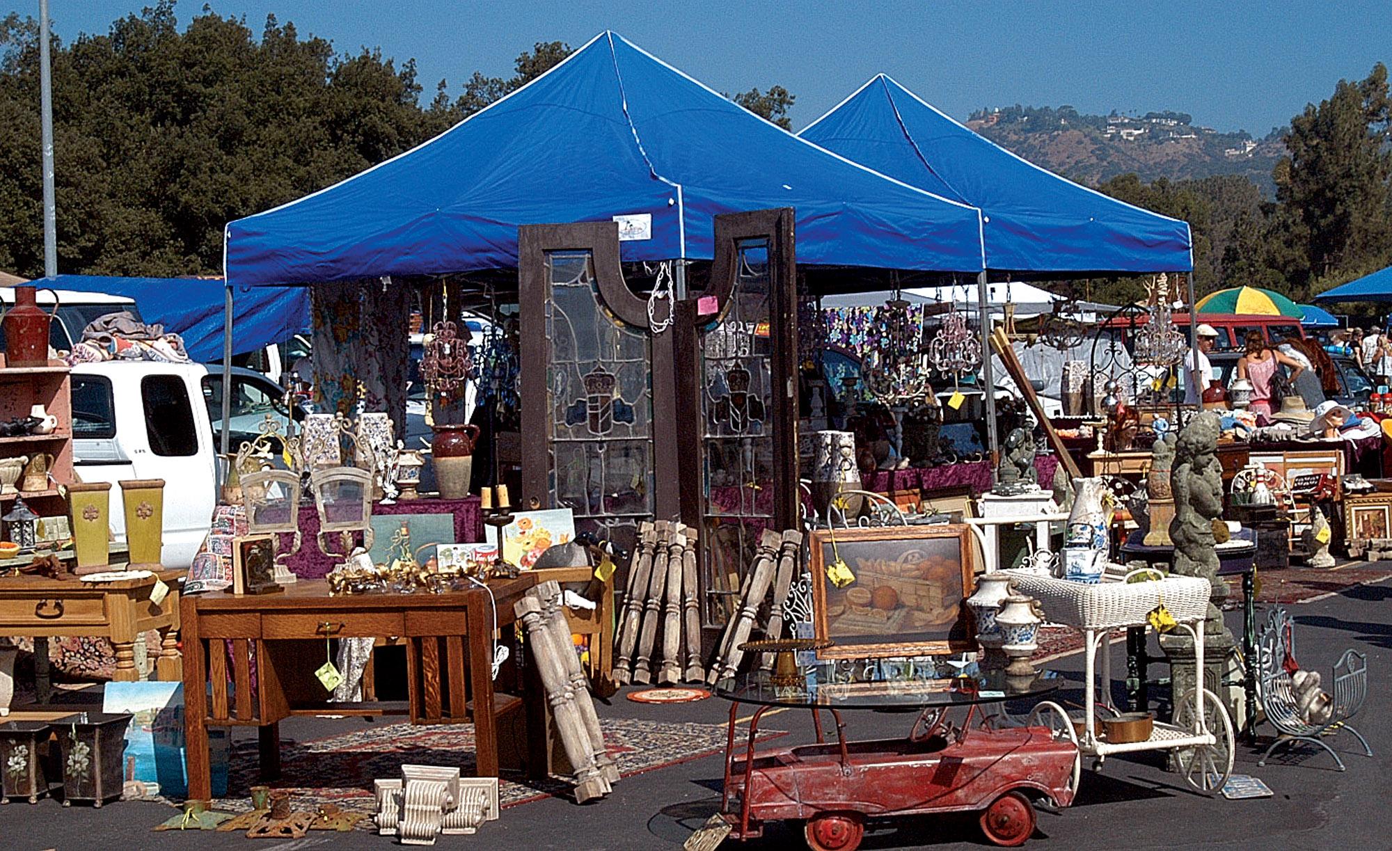 local flea market