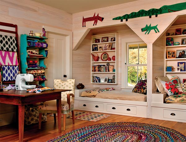 kid's room, nook