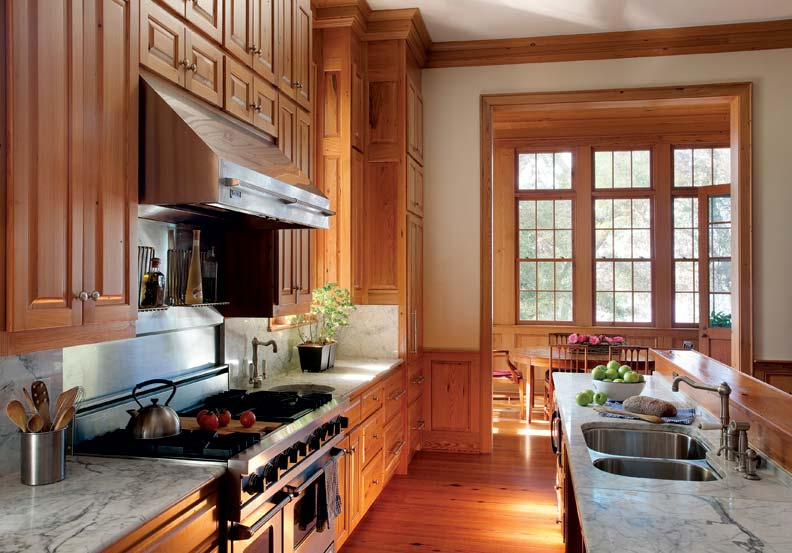 French colonial style for a new house old house restoration products decorating Kitchen design colonial home