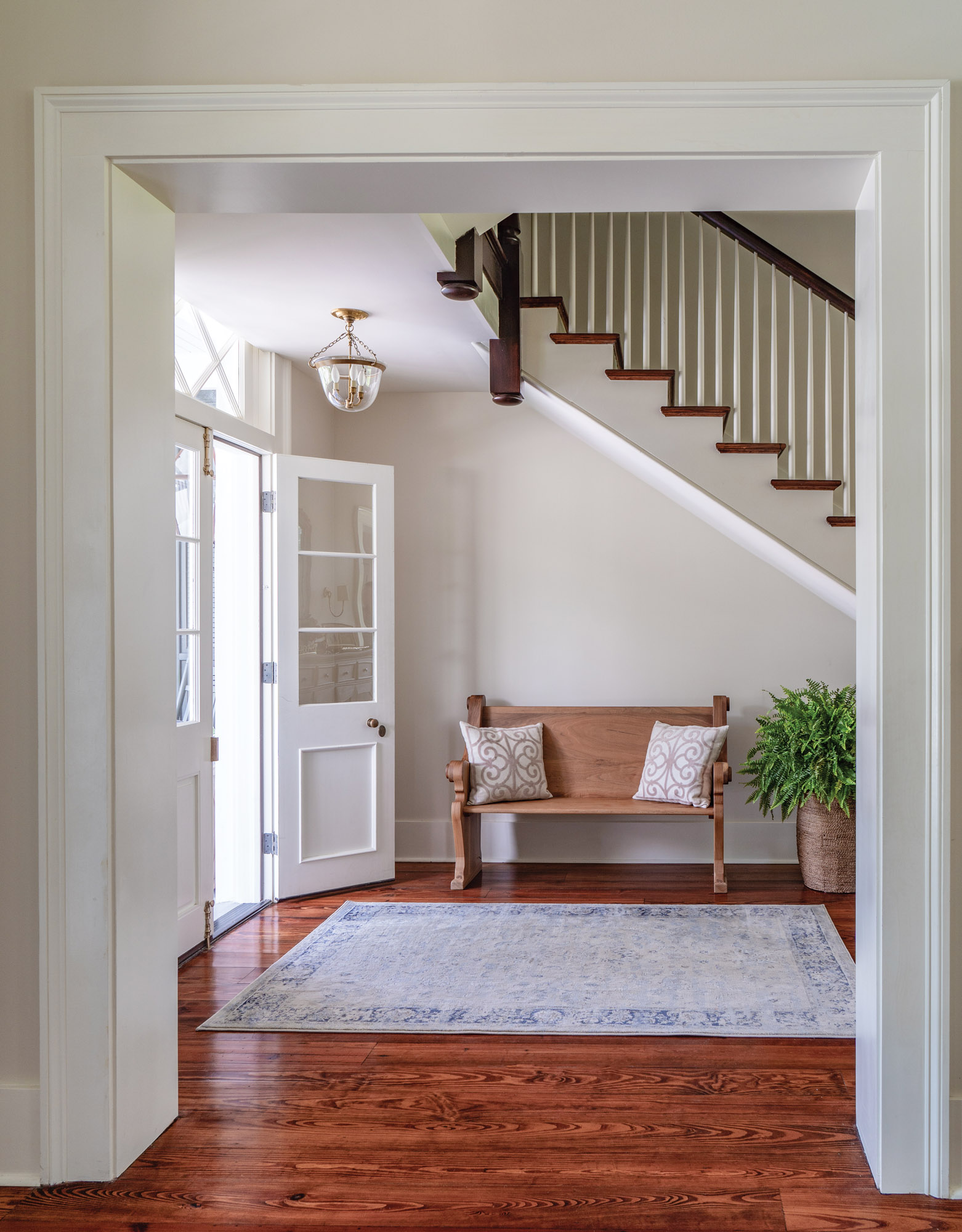 farmhouse trim and mouldings