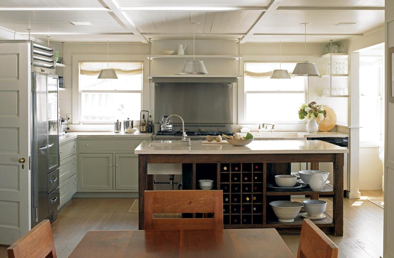 6 ways to make a new kitchen look old old house for Making old kitchen cabinets look modern