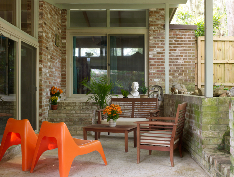 Remarkable Mid Century House In Savannah Old House