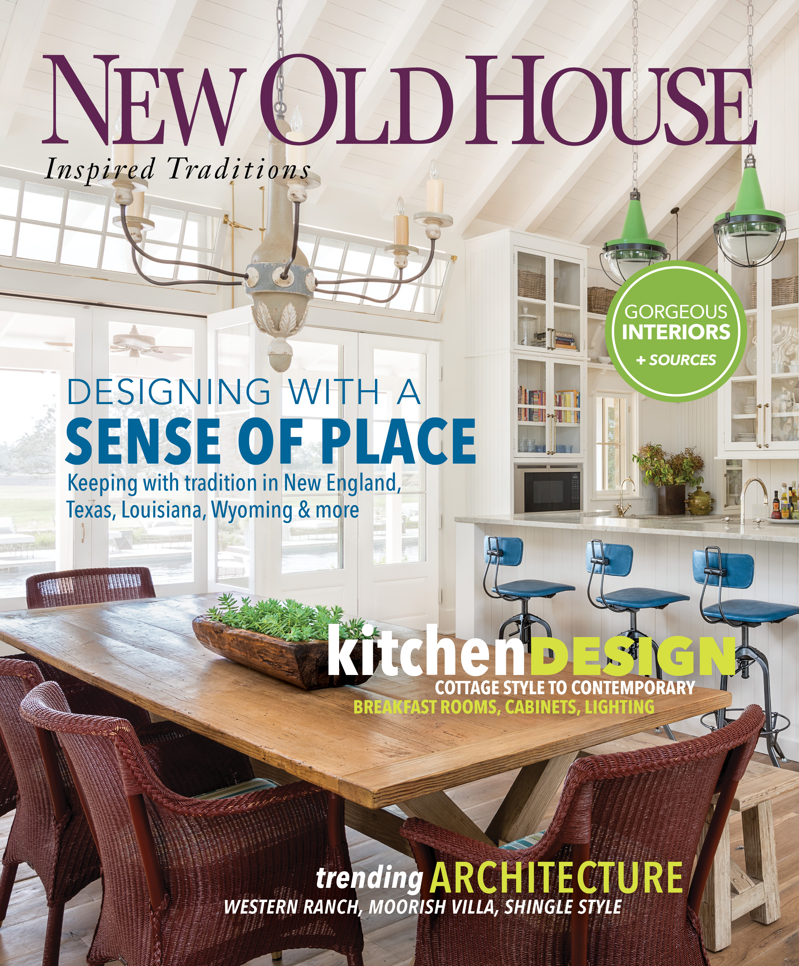 New Old House magazine's Winter 2019 issue