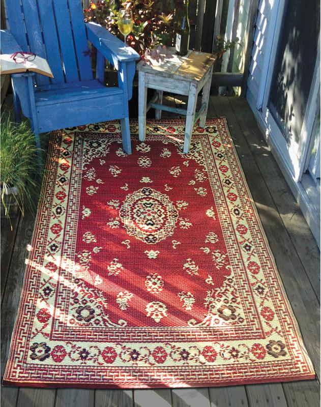 weatherproof rug