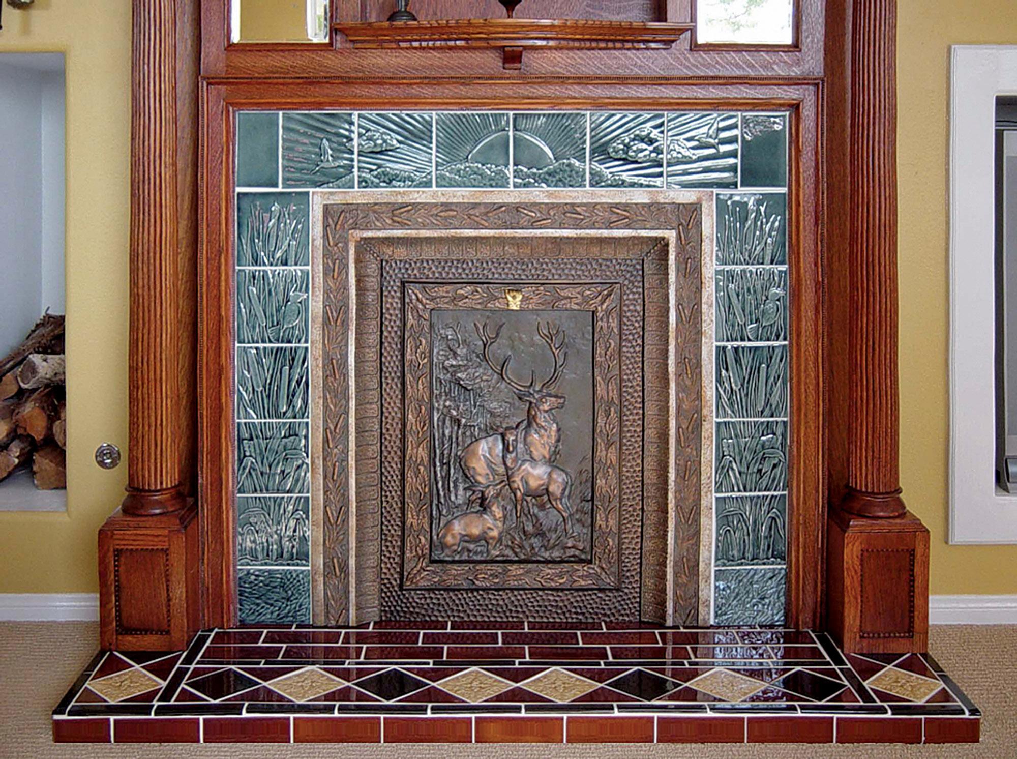 fireplace surround by L'Esperance