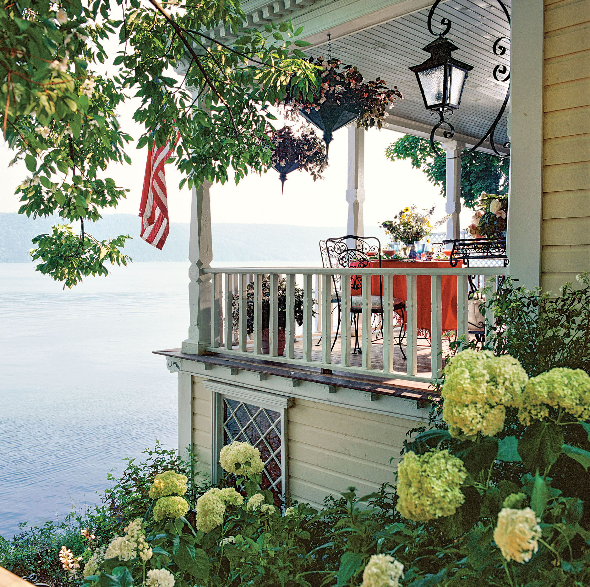 new Colonial porch