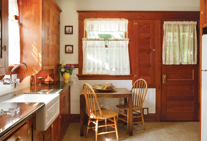Delightful Original 1910 Kitchen Cabinets