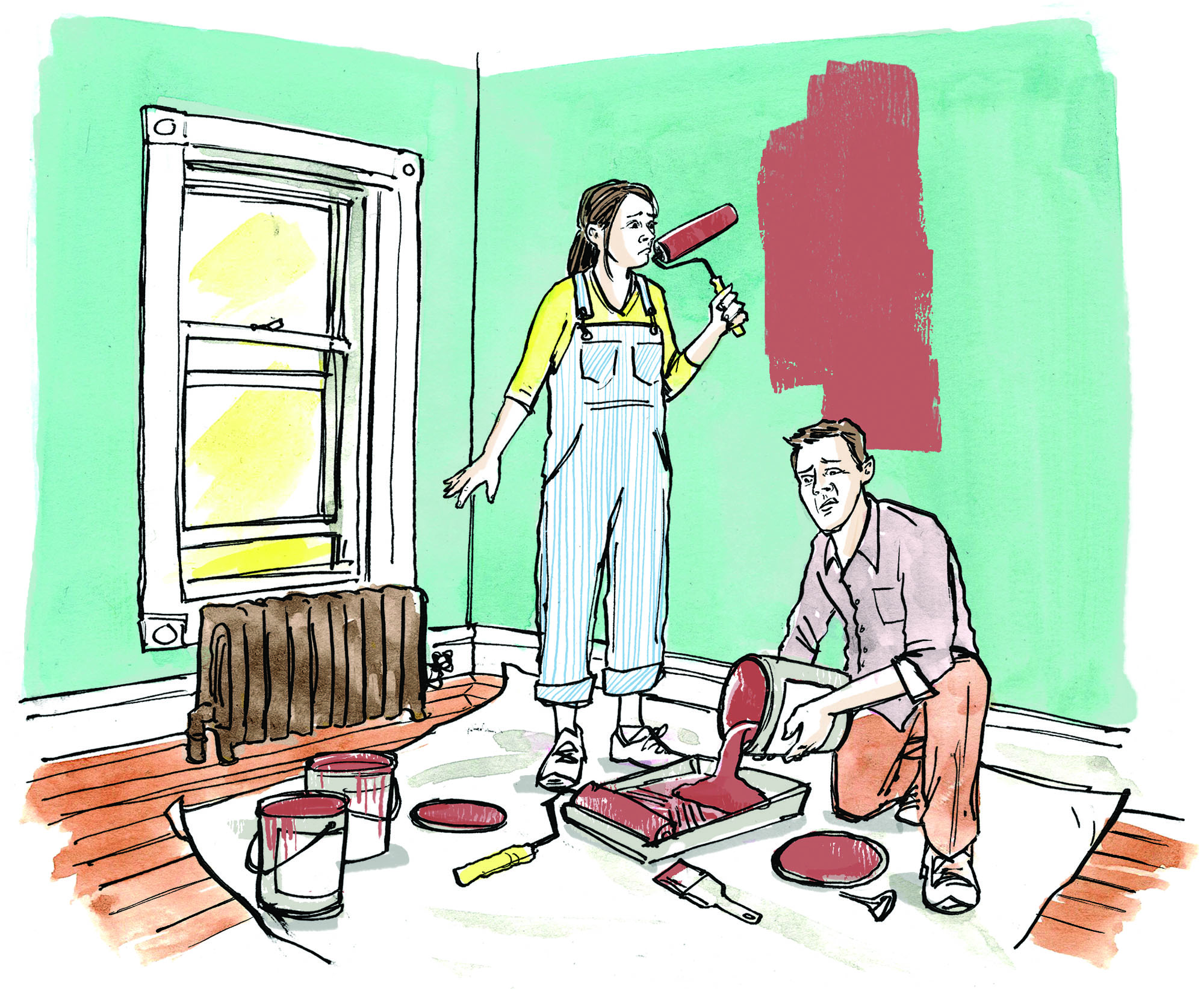 a fix for stinky paint