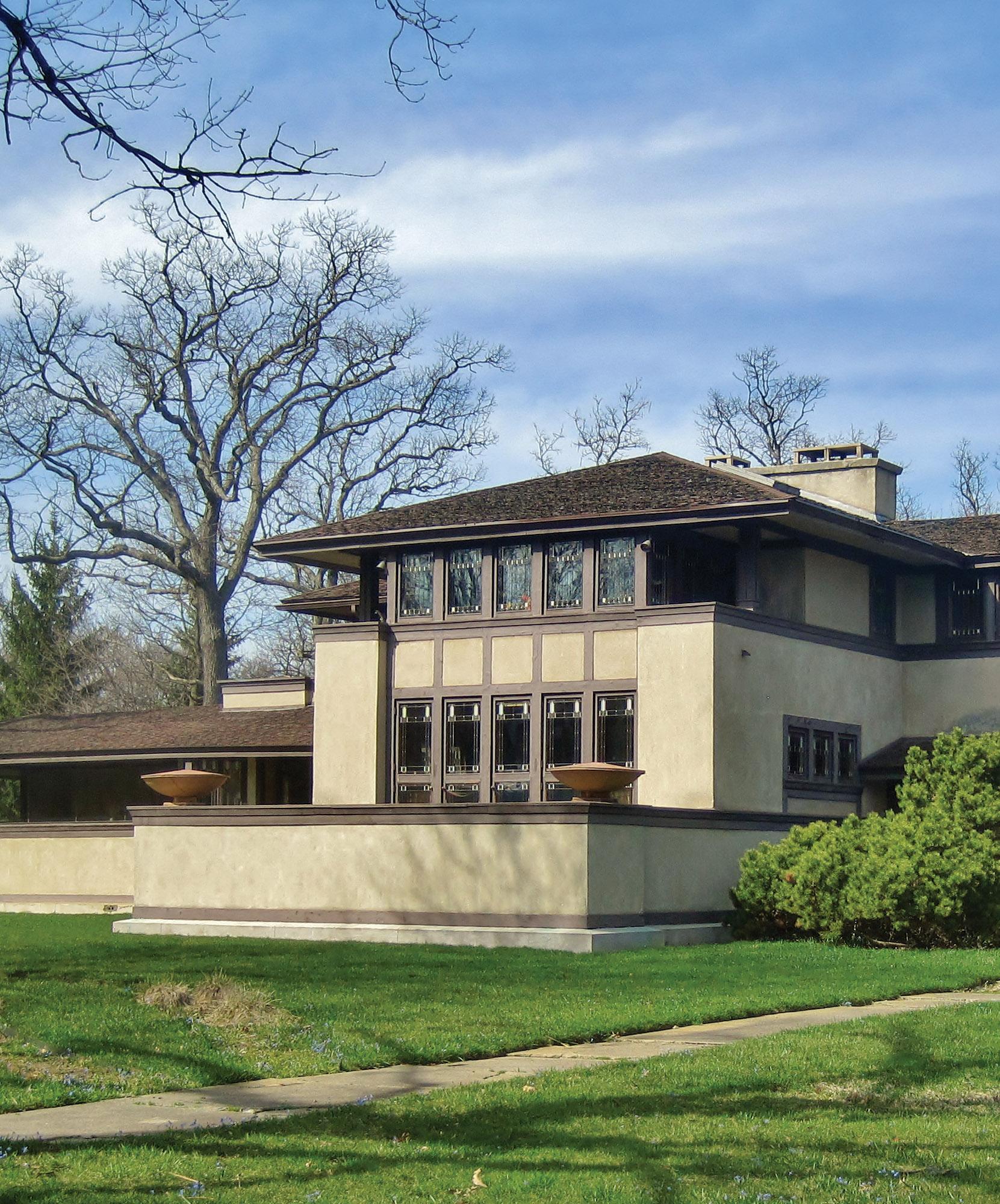Prairie School Houses