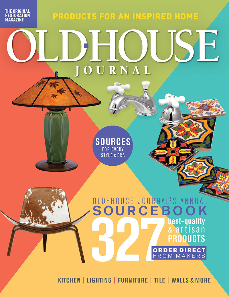 2020 Old House Journal Sourcebook cover