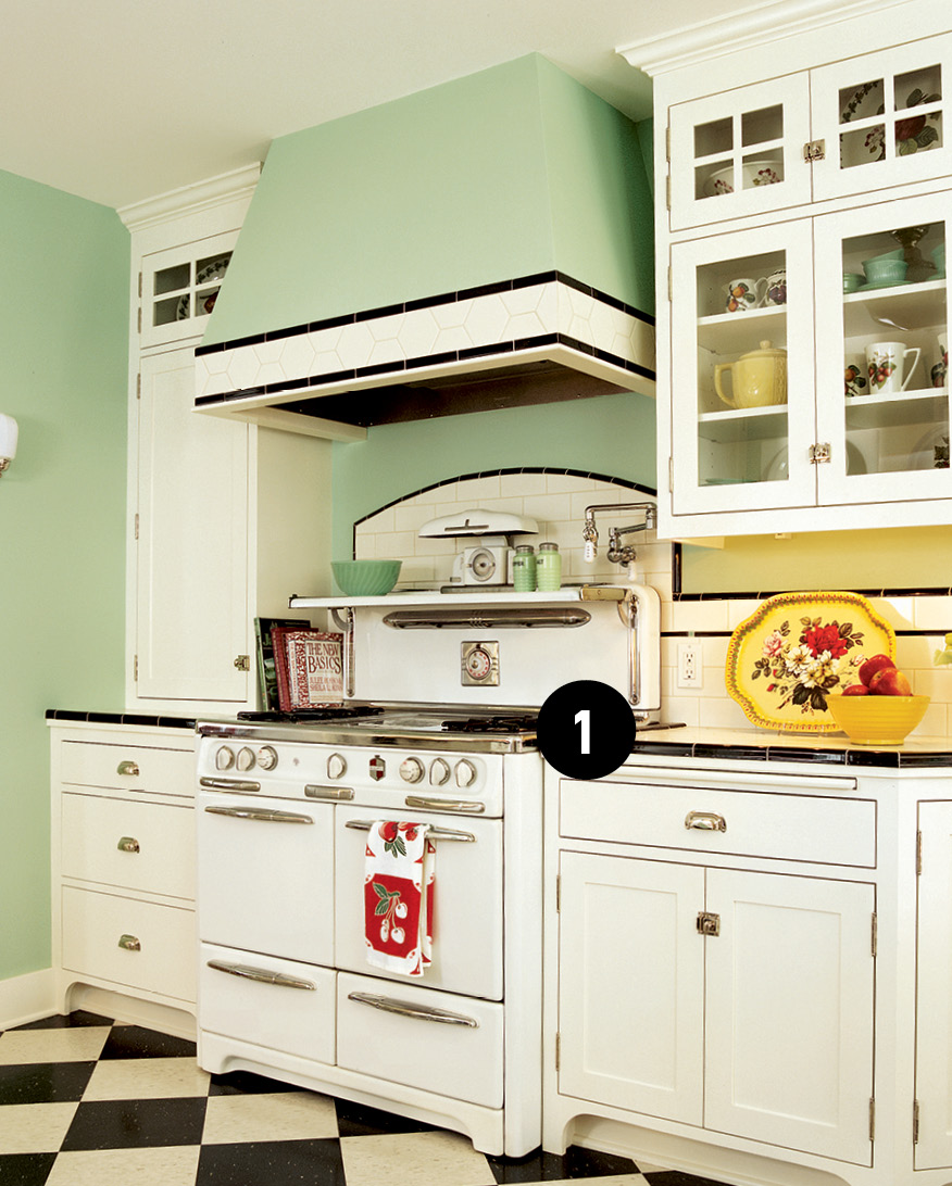 1920s Kitchen Done Right - Old House Journal Magazine