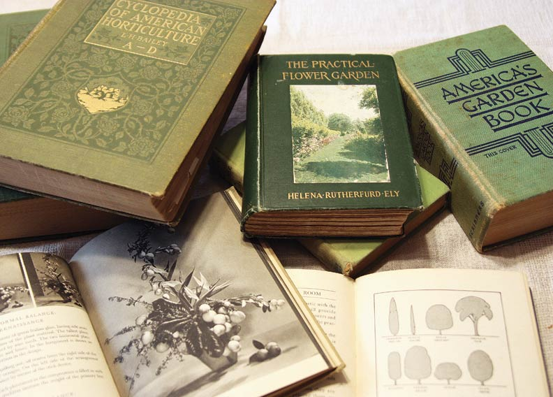The pages of old gardening books hold timeless advice and period-perfect design ideas.