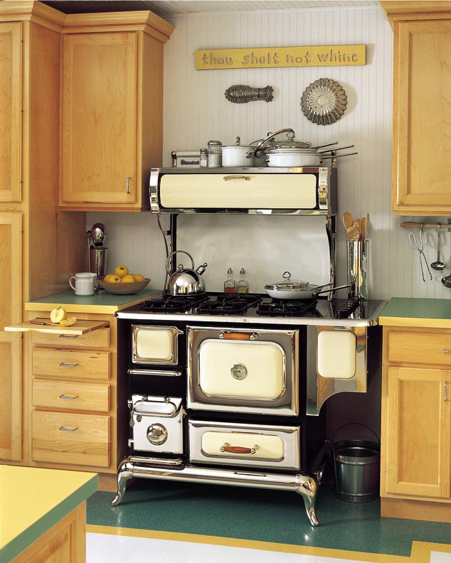 New Home Exteriors: How To Choose A Stove For An Old House