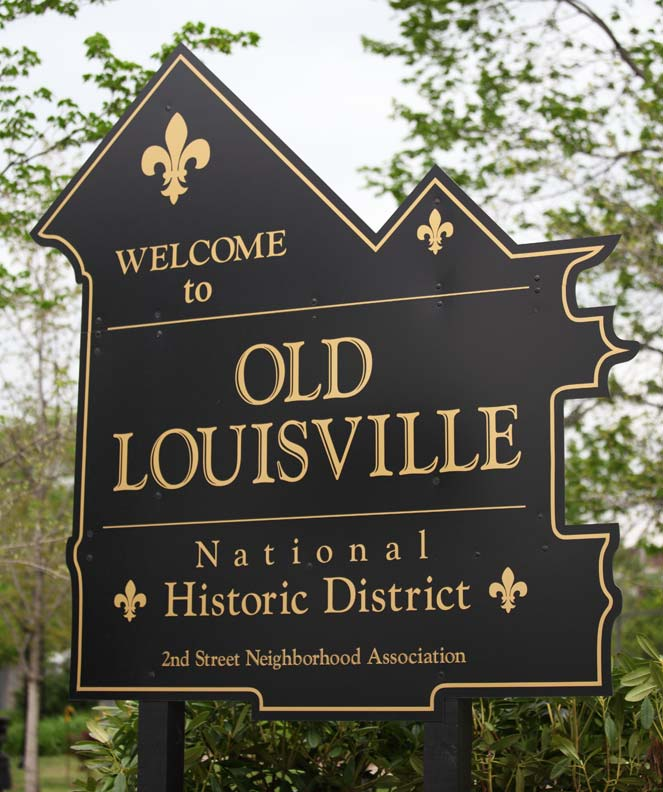 The Old Louisville Historic District stretches over 45 blocks, with 1,400 structures.