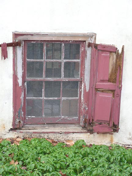 Even beaten-down shutters like the ones above can hang like new with a simple repair procedure.