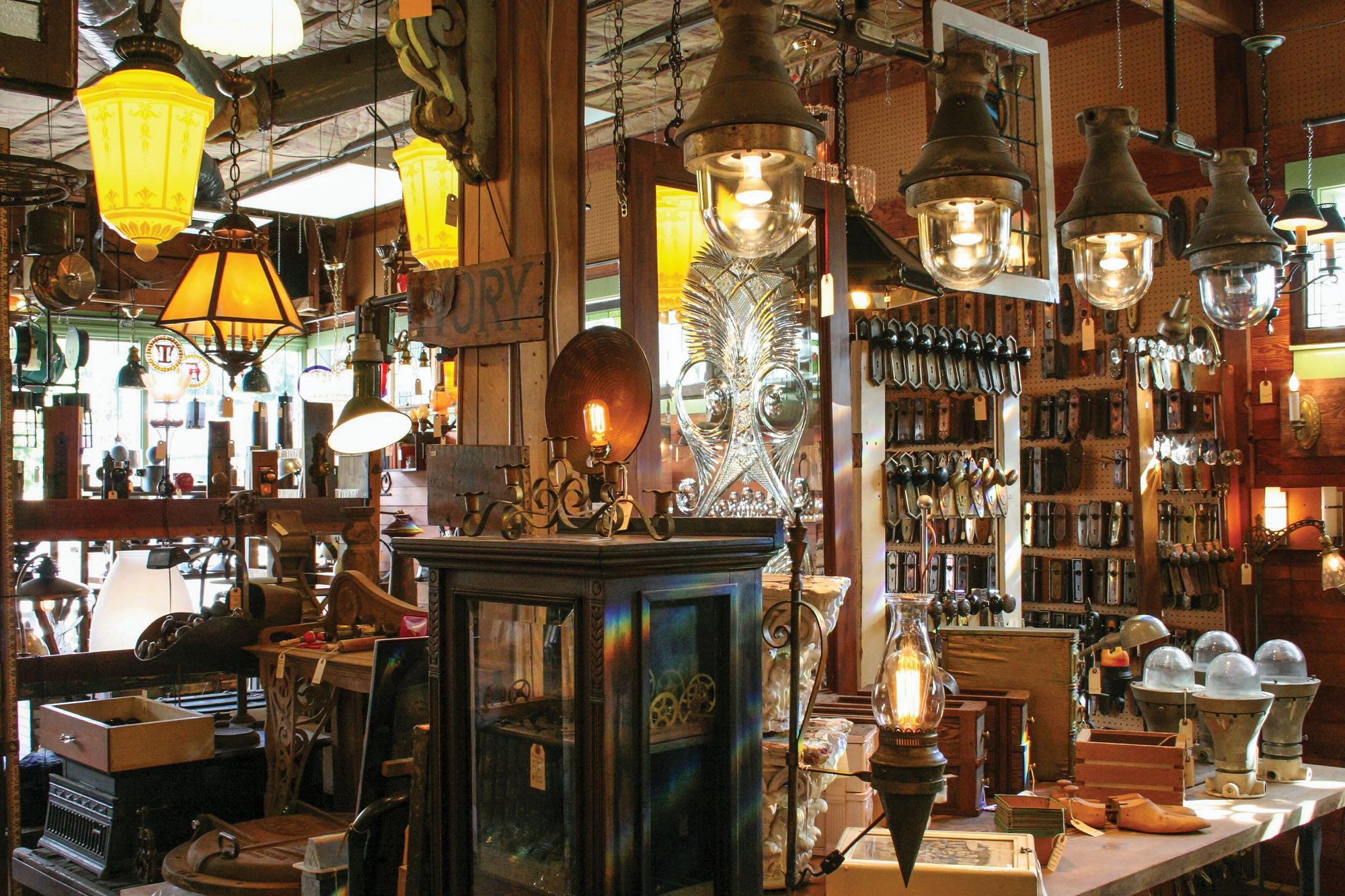 Architectural salvage  shop
