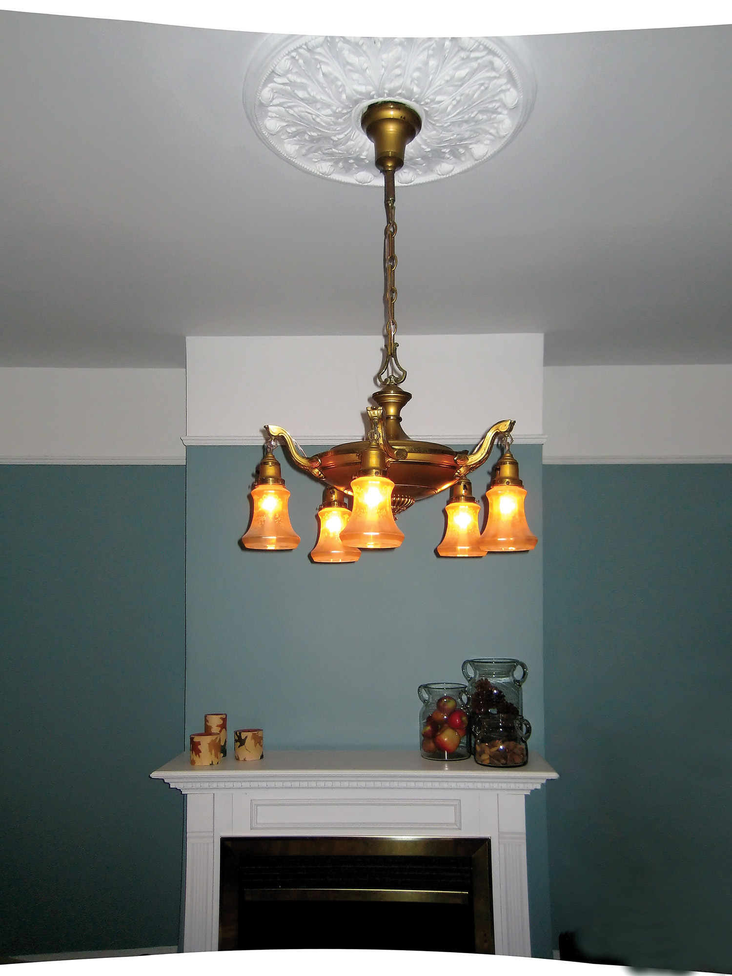 How To Rewire An Antique Light Fixture Old House