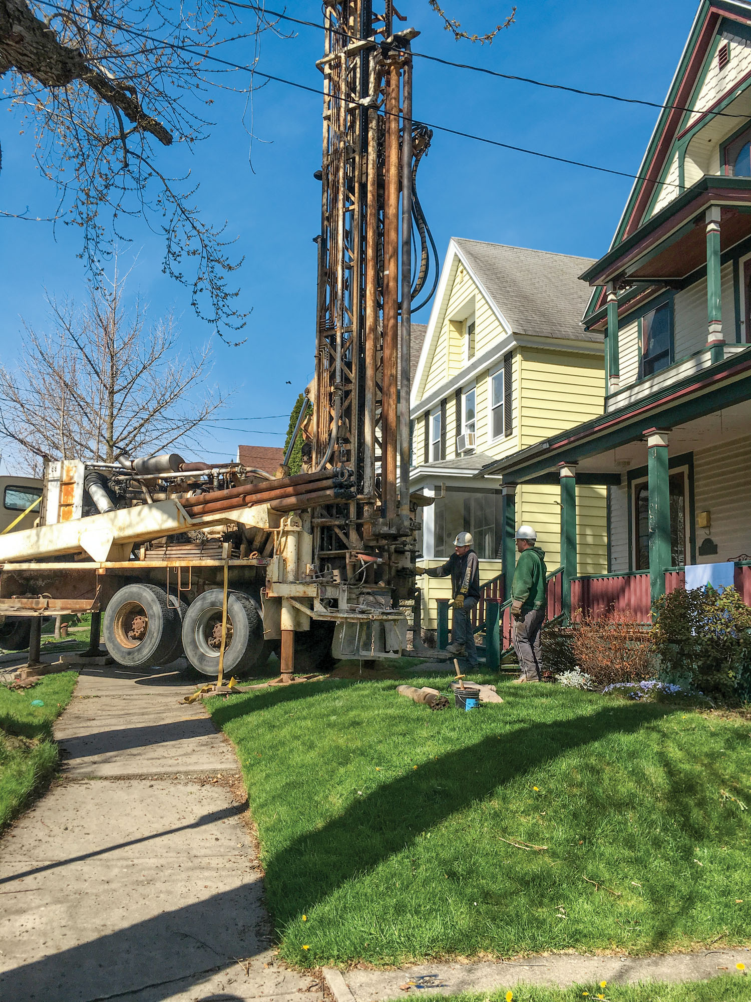 Geothermal Options for Old Homes
