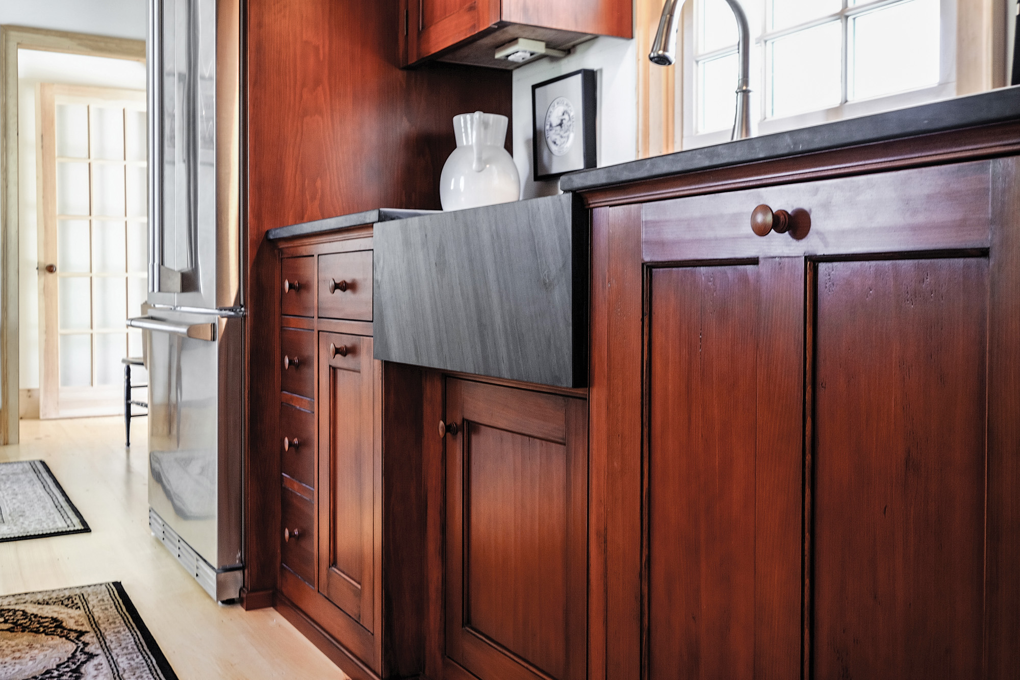 Kitchen cabinets for period houses restoration design for Period kitchen cabinets