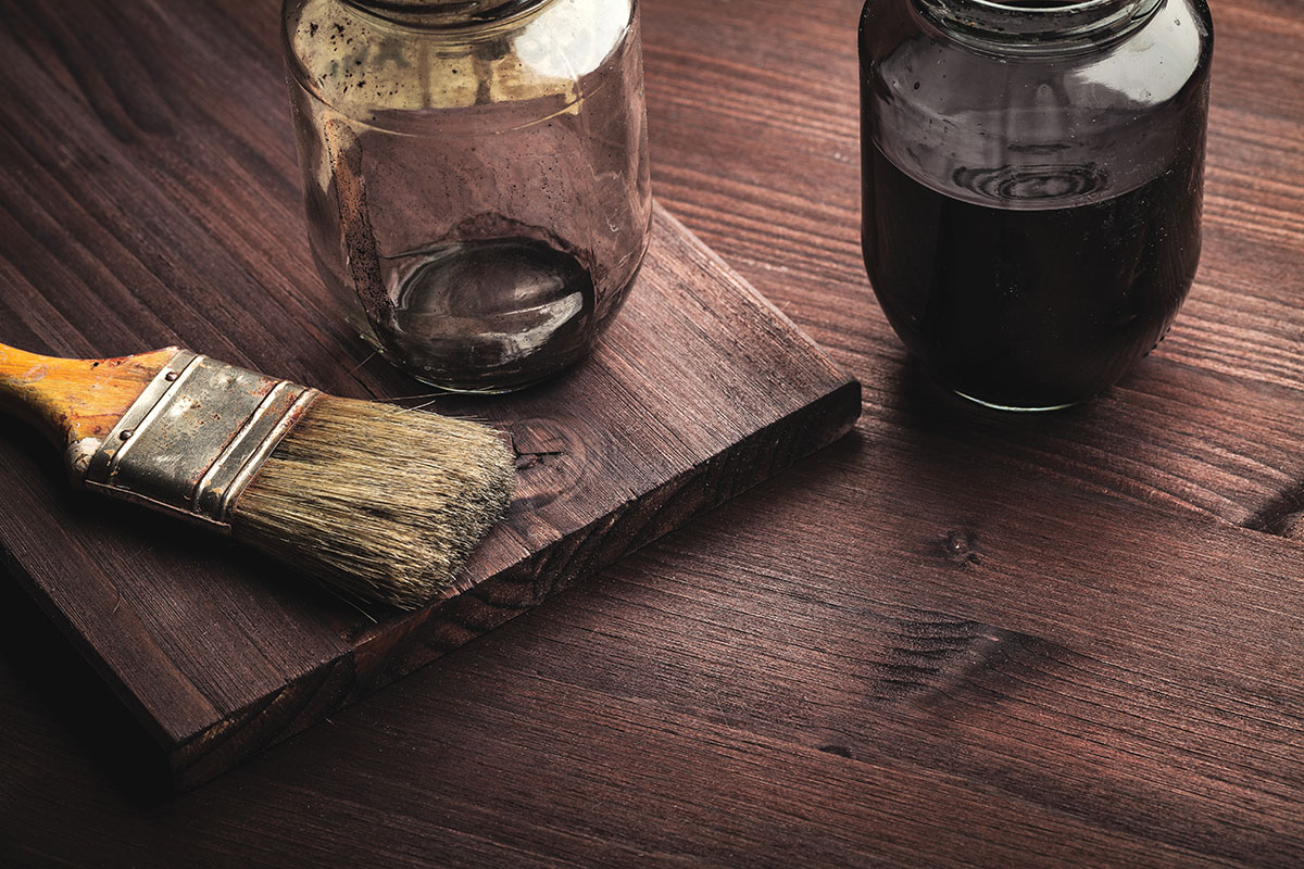 Flooring takes the brunt of surface wear and tear, but woodwork gets its share of abuse as well. (Photo: Fotolia.com/Ruggiero Scardigno)