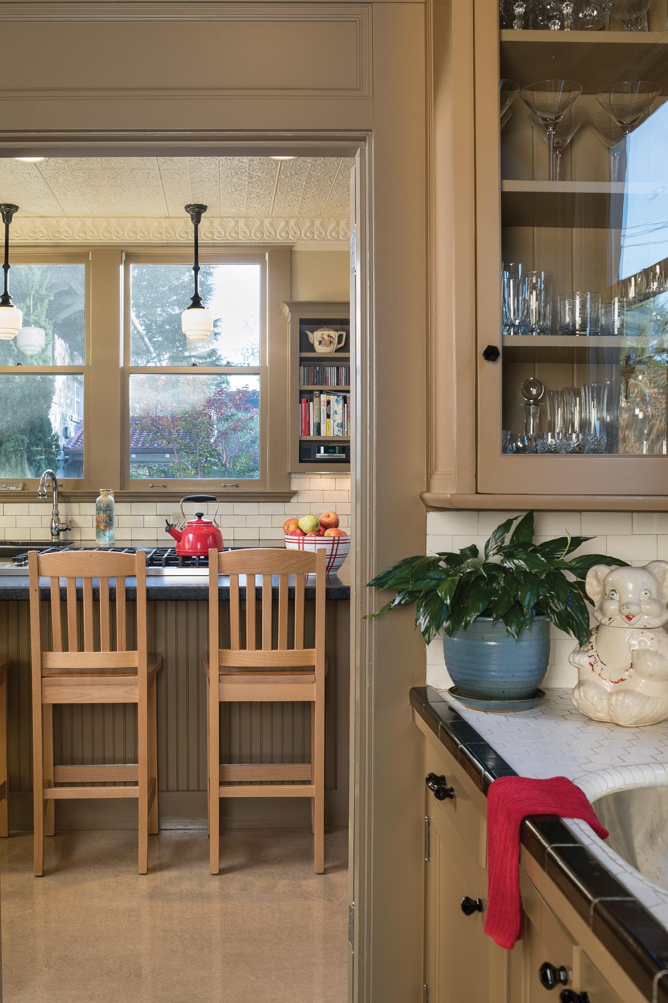 Tudor Revival kitchen