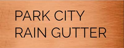 park city rain gutters logo