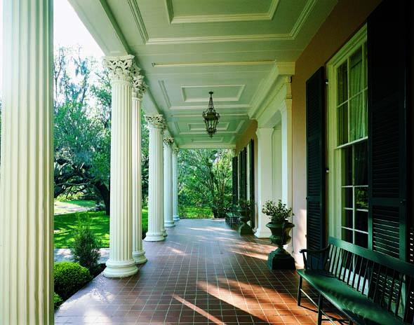 Classical portico