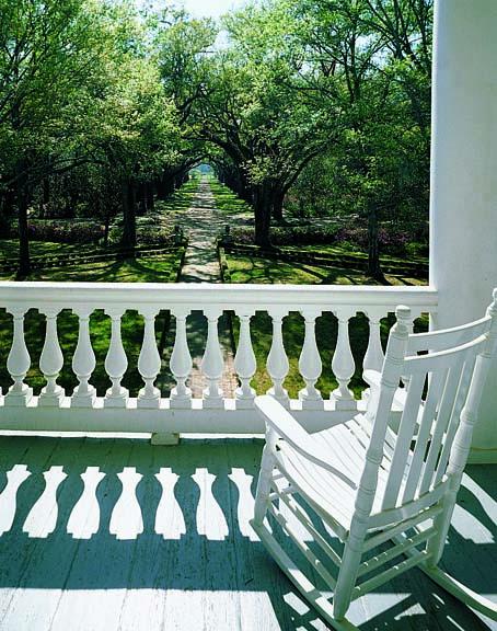 Classical porch balustrade