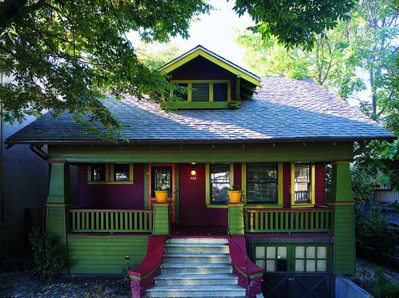 Arts & Crafts porch