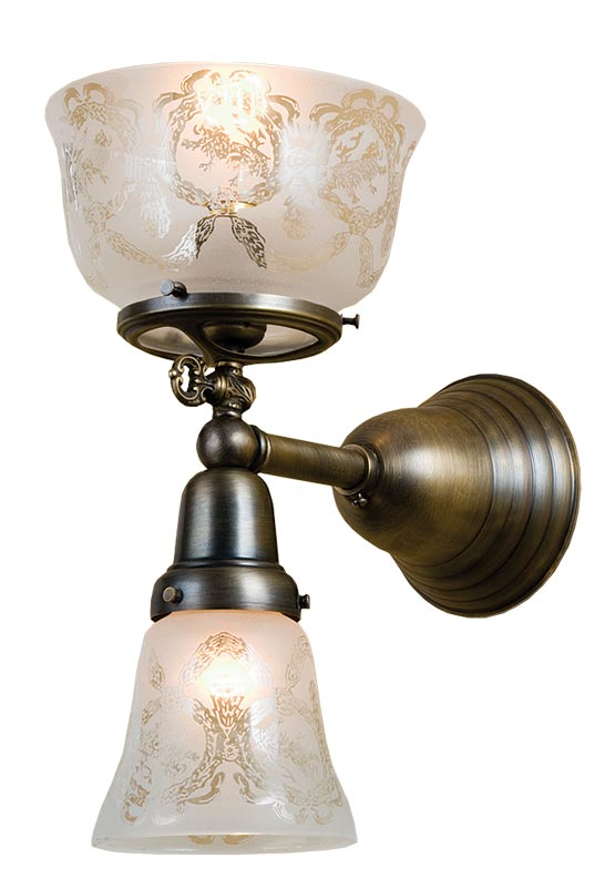 Victorian sconce.