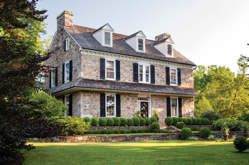 Architect Peter Zimmerman Stone Farmhouse Old House