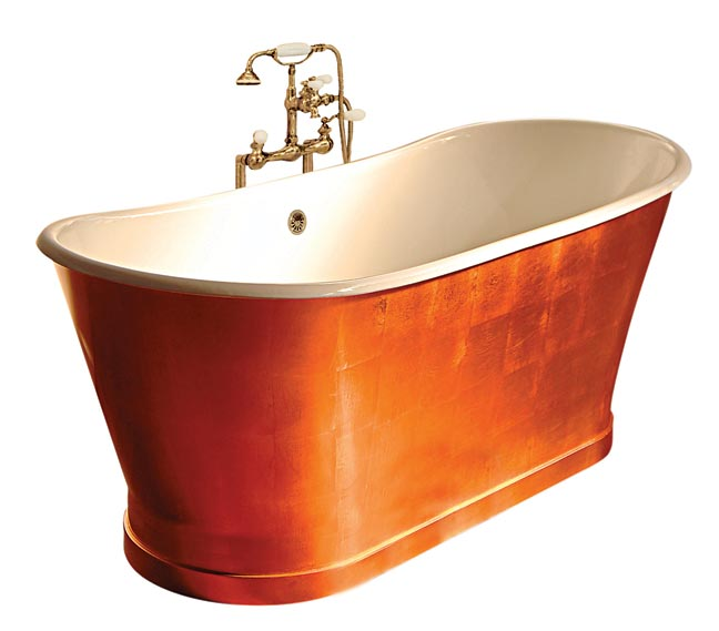 Piedmont copper bathtub, Sunrise Specialty.