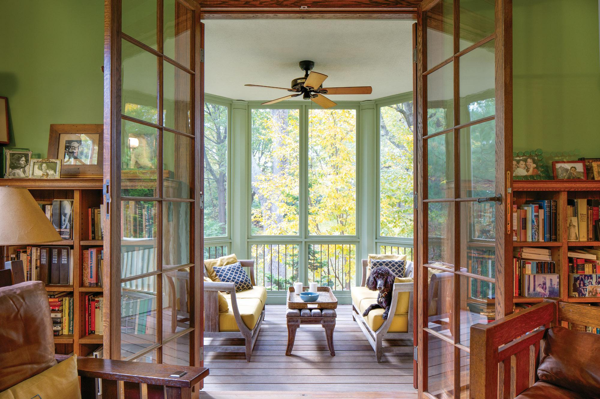 side porch addition